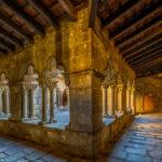 der Kreuzgang im ehemaligen Kloster Sant Pau del Camp in Barcelona