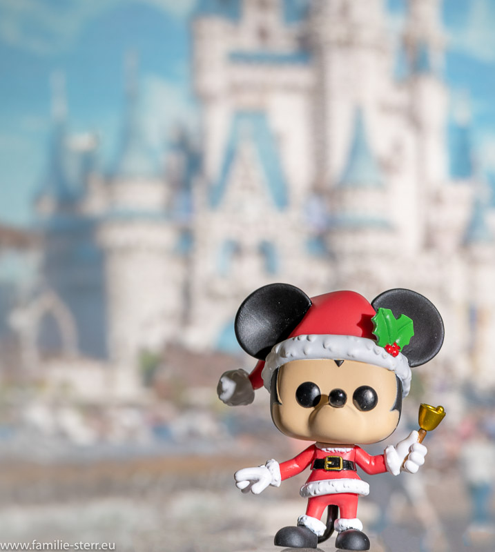 Funko Pop - Mickey Mouse vor dem Cinderella-Schloss im Walt Disney World in Florida
