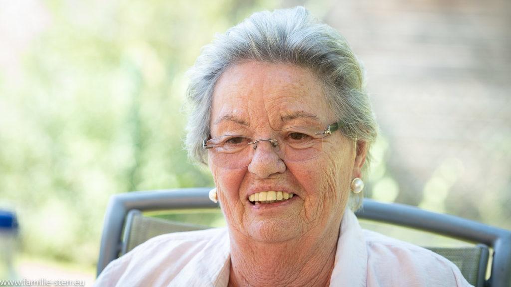 Anita Rutzen an Hans-Freimuts Geburtstag