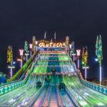 Münchner Rutschn - ein Teppichrutschbahn auf dem Münchner Oktoberfest