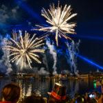 Feuerwerk im EPCOT - Center zum Jahreswechsel 2019 / 2020