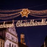 Leuchtschild Münchner Christkindlmarkt