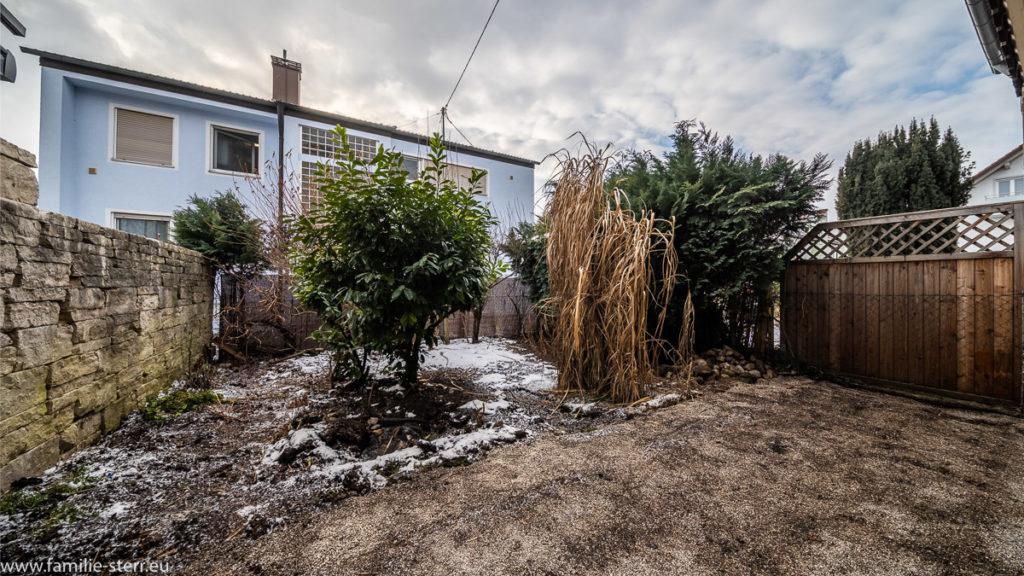 Garten ohne Terrasse