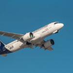 """Airbus A320-271Neo Lufthansa """"Neubrandenburg"""" beim Start am Flughafen München"""