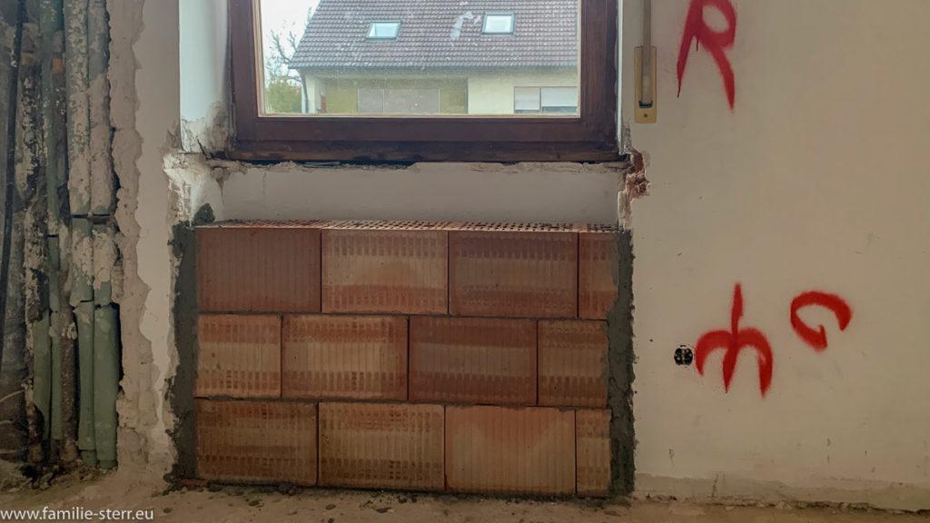 Mauerarbeiten