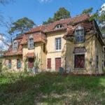 alte, verfallene Villa am Scharmützelsee
