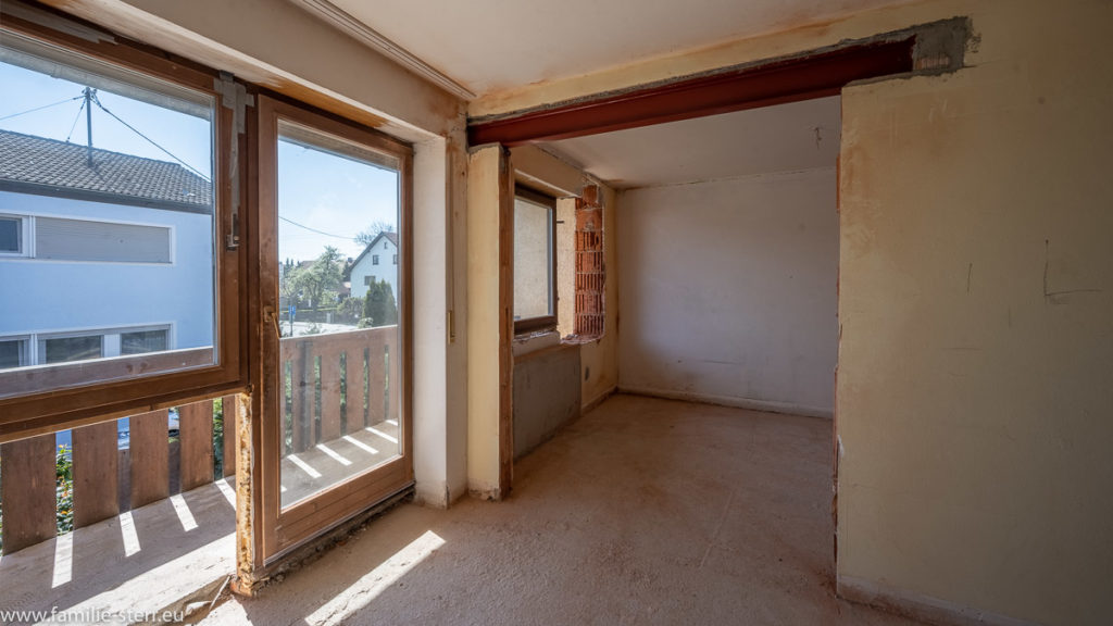 Fensterfront Eltern-Suite