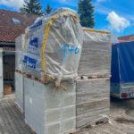 Material für die Fassadendämmung