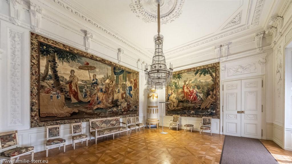 Wandteppiche im Fürstenappartement auf Schloss Ellingen