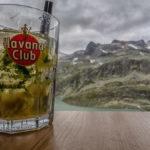 Mojito vor dem Bergpanorama auf der Rudolfshütte in den Hohen Tauern