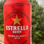 eine Dose Estrella aus Barcalona