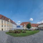 Innenhof Benediktinerabtei Plankstetten