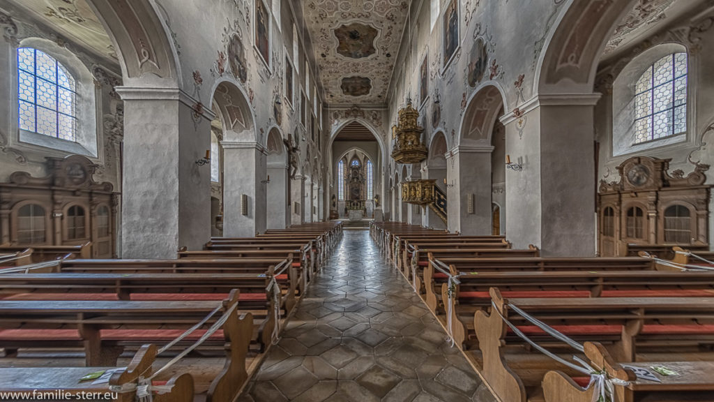 Langhaus der Klosterkirche Plankstetten