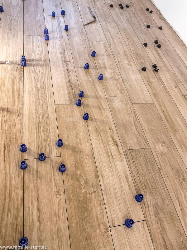 unser neuer Küchenboden / Fliesen in Holzoptik von IGA