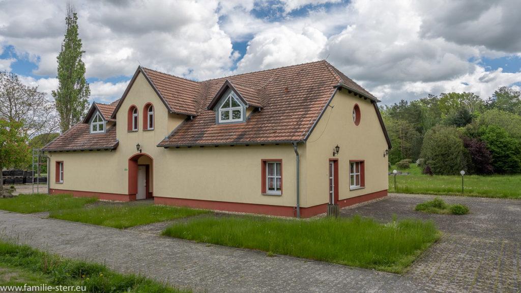 Bahnhof Kromlau der Waldeisenbahn Muskau