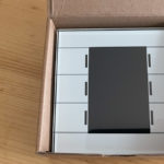 Dipfedings - KNX Glastaster Scmart II von MDT im Karton